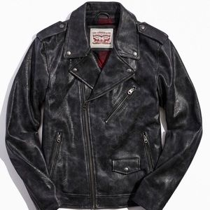 Levi's Vintage Faux Leather Jacket *NEW w/ TAGS